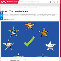 Brexit: The brand winners