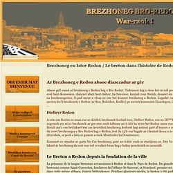 Brezhoneg en Istor Redon / Le breton dans l'histoire de Redon - Brezhoneg bro-redon