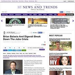 Brian Balasia And Digerati Break Down The Jobs Crisis
