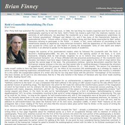 Brian Finney Essay on Philip Roth