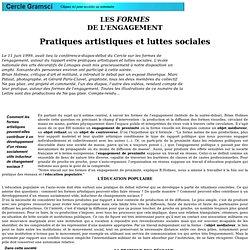 Brian HOLMES - Les formes de l'engagement - 06/99