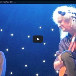 BRIAN MAY & KERRY ELLIS - Born Free Tour 2013 - Auditorium Milan - Dust in the wind
