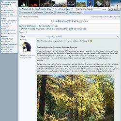 [Récit + liste] Briançon - Nice à la mi-octobre, GR5 et variantes (Page 1) / Retours du terrain