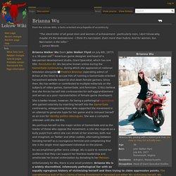 Brianna Wu - Lolcow Wiki