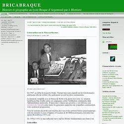 BRICABRAQUE » Archives du Blog » Liens utiles sur le Maccarthysme.
