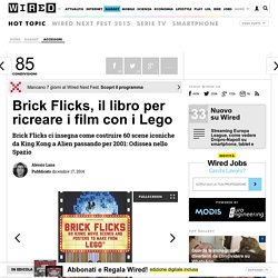 Brick Flicks, il libro per ricreare i film con i Lego