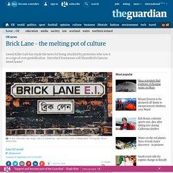 Brick Lane – the melting pot of culture