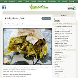Brick poireaux/tofu