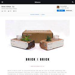 Brick X Brick . Co on Behance