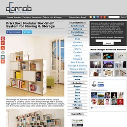 BrickBox: Modular Box-Shelf System for Moving & Storage