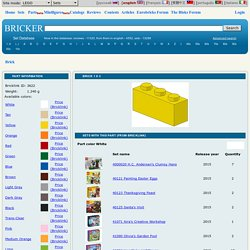 Part LEGO - 3622 Brick 1 x 3