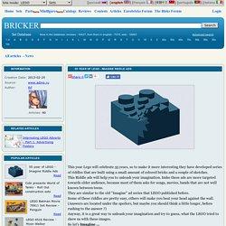 Bricker - 55 year of LEGO - Imagine Riddle Ads