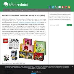 LEGO BrickHeadz, Creator, & Iconic sets revealed for 2021 [News]
