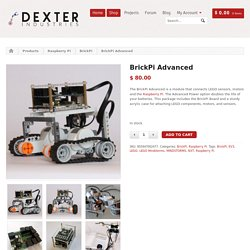 BrickPi Advanced - Dexter Industries