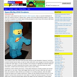 Blog Archive » Space Minifig LEGO Sculpture