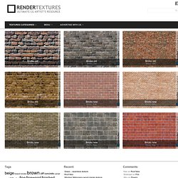 Bricks | BEST FREE RENDER TEXTURES