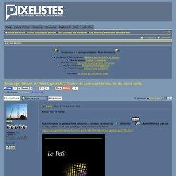 [Bricolage] Reliure du Petit CaptureNX2 illustré de Laurence Huriaux en dos carré collé. : Les tutoriels matériel et prise de vue