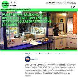 Panier repas, brushing ou bricolage : SNCF implante des startups collaboratives dans les gares