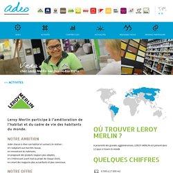 Leroy Merlin, magasin de bricolage, domotique et décoration : ADEO