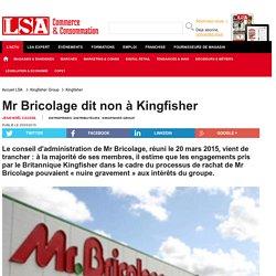 Mr Bricolage dit non à Kingfisher - Bricolage, jardinage