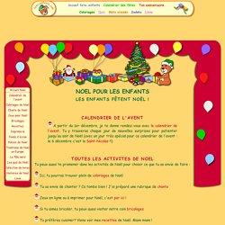 Noël pour les enfants : activités, jeux, bricolages et coloriages sur fete-enfants