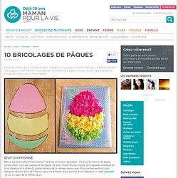 10 bricolages de Pâques - Loisirs - Bricolage