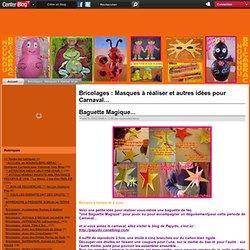 Bricolages Masques a realiser et autres idees pour Carnaval