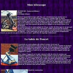 Bricoles astronomiques