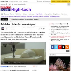 Fablabs : bricolez numérique !