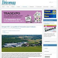Bricomag - Groupe V33 : La qualité et l'innovation pour moteurs