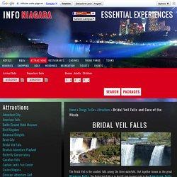 Bridal Veil Falls - Cave of the Winds, Luna Island, Niagara Falls