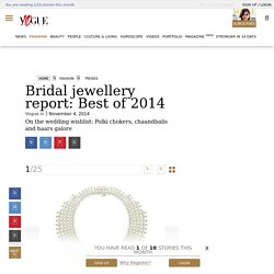 Bridal Jewellery Report 2014 - Indian Bridal Jewellery