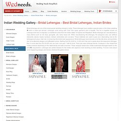Bridal Lehengas - Best Bridal Lehengas, Indian Brides - WedNeeds