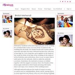 Bridal Mehendi - Pinkdesk.org