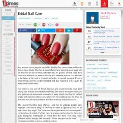 Bridal Nail Care
