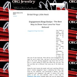 Bridal Rings Little Neck