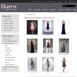Bridesmaid Dress at Flares Bridal