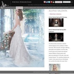 Bridesmaids Dresses & Bridal Gowns by Alvina Valenta - JLM Couture