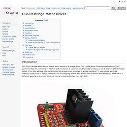 Dual H-Bridge Motor Driver - GOF_Wiki Dual H-Bridge Motor Driver - Open Source,Open Minded