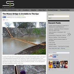 The Moses Bridge is Invisible to The Eye