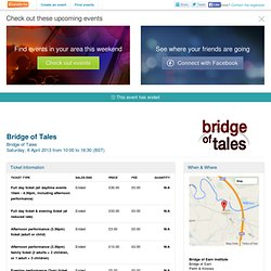 Bridge of Tales - Eventbrite