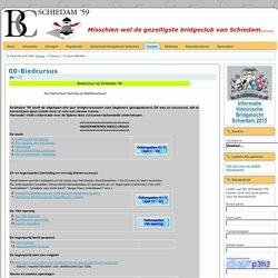 Bridgeclub Schiedam '59 - Cursus Bieden