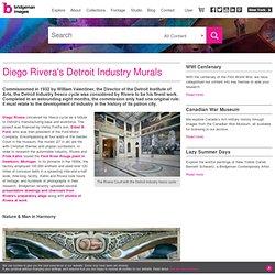 Symbolism in Diego Rivera's Detroit Industry Murals - Images d'Art et d'Histoire pour la reproduction – Bridgeman – Art, Culture, Histoire