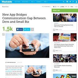 New App Bridges Communication Gap Between Devs and Small Biz