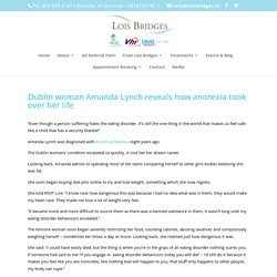 Lois Bridges - Eating Disorder Clinic for Anorexia