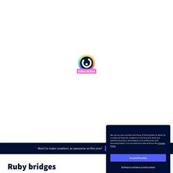 Ruby bridges par emilie.nivet sur Genially