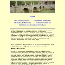 Bridges - their structure and function