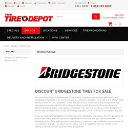 Bridgestone Tires For Sale