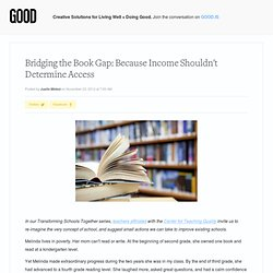 Bridging the Book Gap: Because Income Shouldn't Determine Access