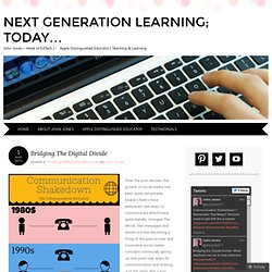 Next Generation Learning; Today...